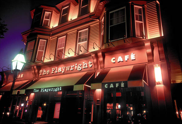 Scriptwriter Photograph - Playwright Bar And Cafe, Boston, Ma by John Coletti