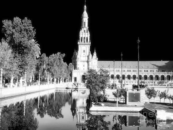 Photograph - Plaza De Espana Drama In Seville by John Rizzuto