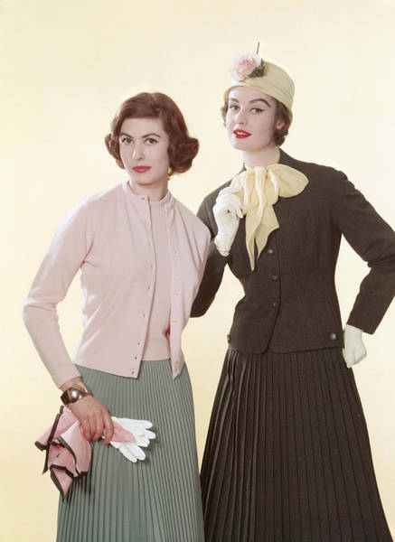 Garment Photograph - Pleasing Pleats by Popperfoto