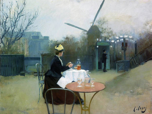 Wall Art - Painting - Plein Air - Digital Remastered Edition by Ramon Casas