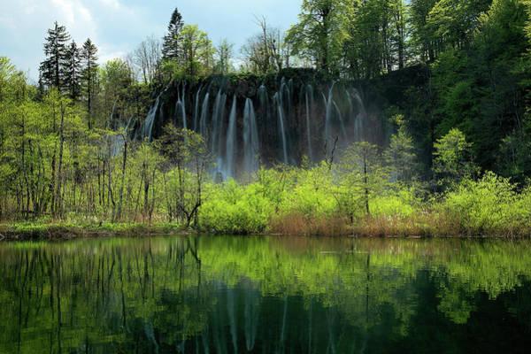 Wall Art - Photograph - Plitvice Lakes by Christian Heeb
