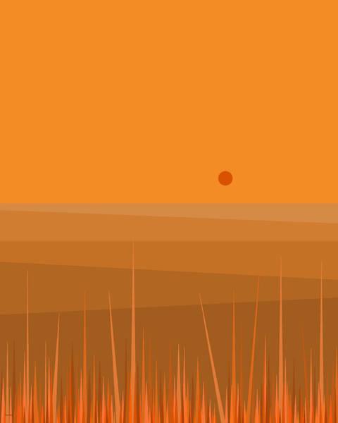 Digital Art - Plowed Fields by Val Arie