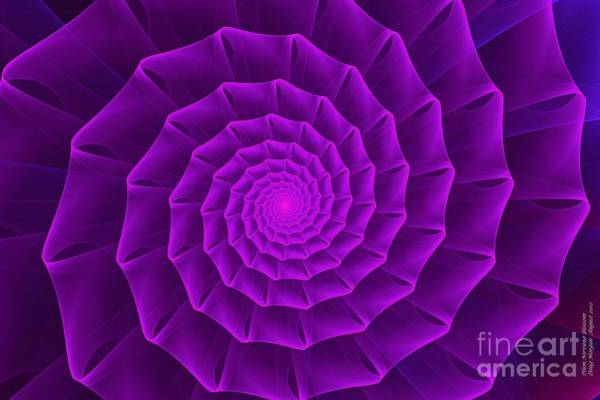 Digital Art - Plum Nirvana Blossom by Doug Morgan