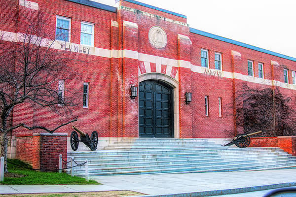 Photograph - Plumley Armory At Norwich University by Jeff Folger