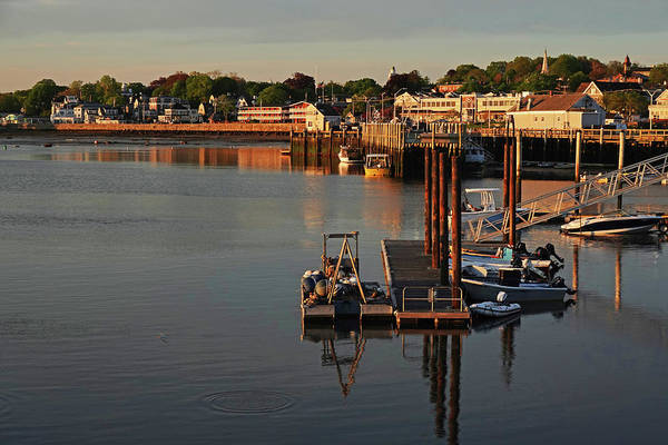 Photograph - Plymouth Ma Waterfront Plymouth Harbor Pier by Toby McGuire