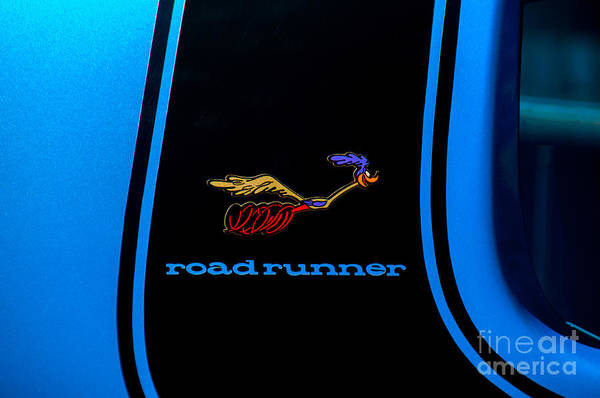 Photograph - Plymouth Roadrunner Decal by Anthony Sacco
