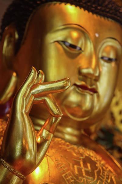 Wall Art - Photograph - Po Lin Monastery.  Medicine Buddha by Uig