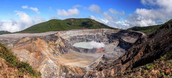 Wall Art - Photograph - Poas Volcano In Costa Rica by Alexey Stiop