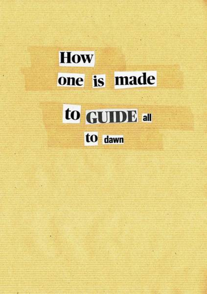 Mixed Media - Poem Poster 15 by Artist Dot