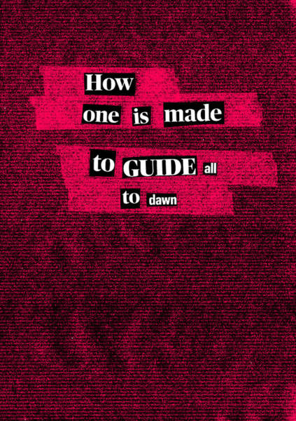 Mixed Media - Poem Poster 15b by Artist Dot