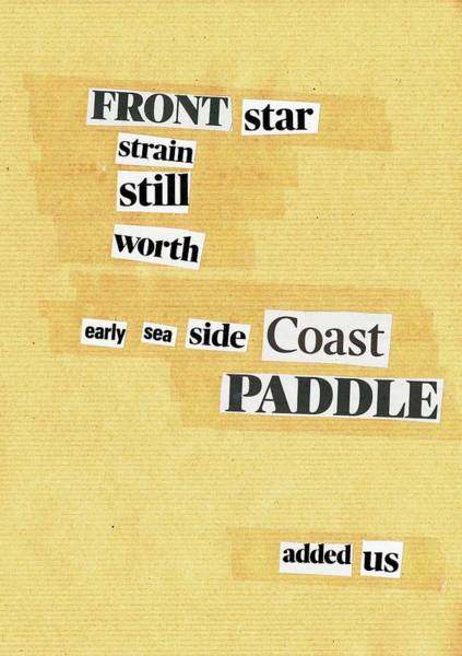 Mixed Media - Poem Poster 16 by Artist Dot