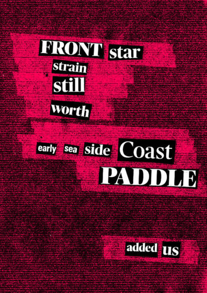 Mixed Media - Poem Poster 16b by Artist Dot