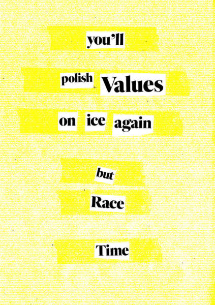 Mixed Media - Poem Poster 21a by Artist Dot