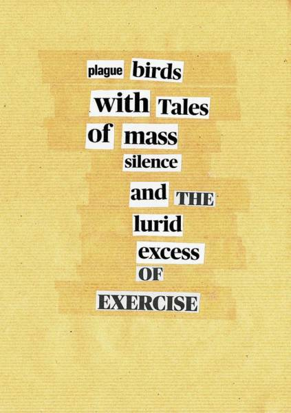 Mixed Media - Poem Poster 23 by Artist Dot