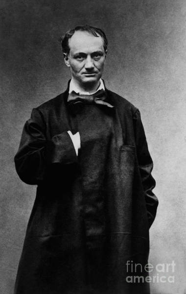 Wall Art - Photograph - poete francais Charles Baudelaire by French School