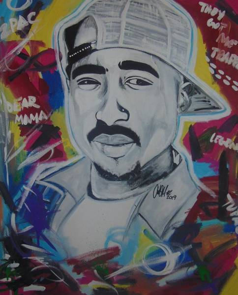 Painting - Poetic Pac by Antonio Moore