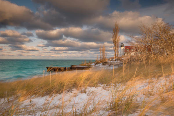 Photograph - Point Betsie Lighthouse by Thomas Gaitley