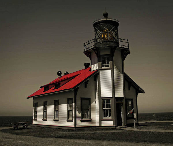 Photograph - Point Cabrillo Light Station by Thom Zehrfeld