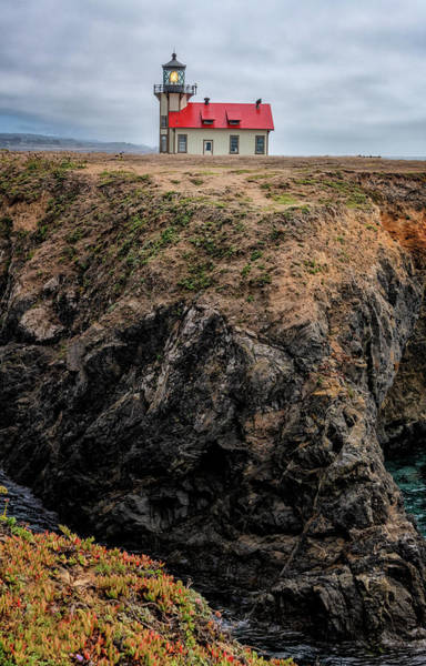 Photograph - Point Cabrillo Lighthouse California by Joan Carroll