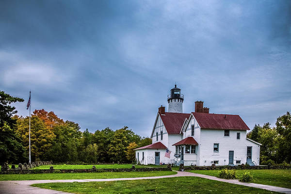 Wall Art - Photograph - Point Iroquois Light by Tom Weisbrook