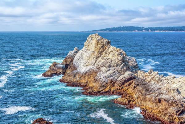 Photograph - Point Lobos Rocks by Joseph S Giacalone