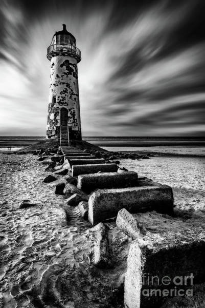 Wall Art - Photograph - Point Of Ayr Lighthouse by Adrian Evans