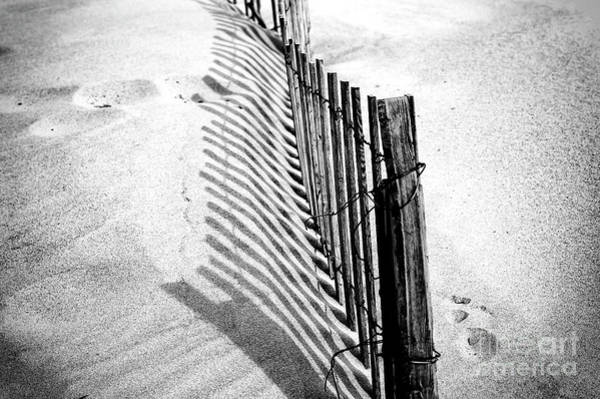 Point Pleasant Photograph - Point Pleasant Dune Shadows by John Rizzuto