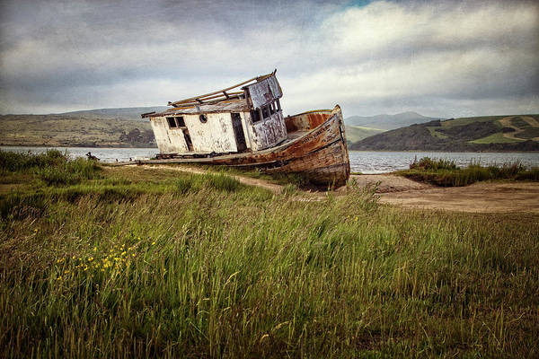 Photograph - Point Reyes Boat by Carolyn Derstine