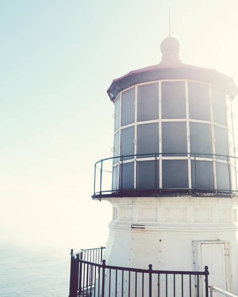 Wall Art - Photograph - Point Reyes Lighthouse by Lupen Grainne