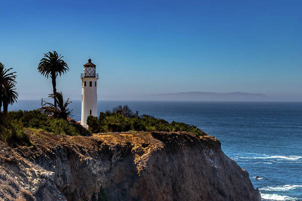 Photograph - Point Vicente Lighthouse by Ed Clark