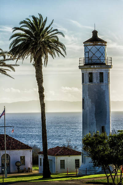 Point Vicente Wall Art - Photograph - Point Vincente Park And Lighthouse by Robert Hebert
