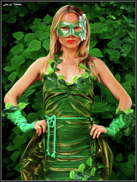 Photograph - Poison Ivy by Jon Volden