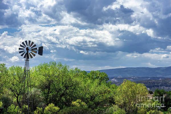 Photograph - Pojoaque Windmill by Steven Natanson