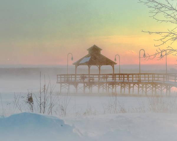 Photograph - Polar Vortex Sunset by Rod Best