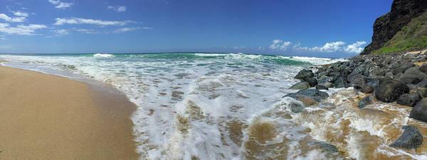 Photograph - Poli Hale Beach by Steven Lapkin