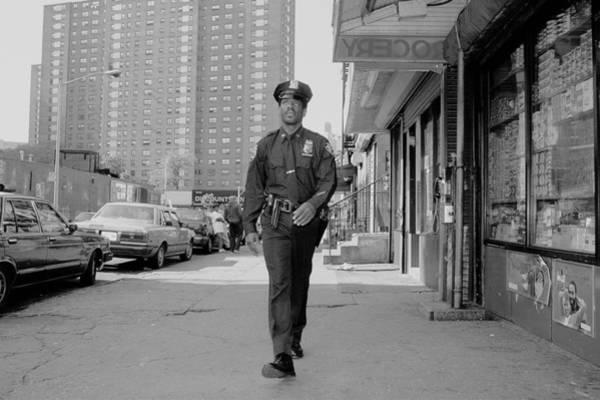 Photograph - Police Officer And Boxer Ricky Frazier by New York Daily News Archive