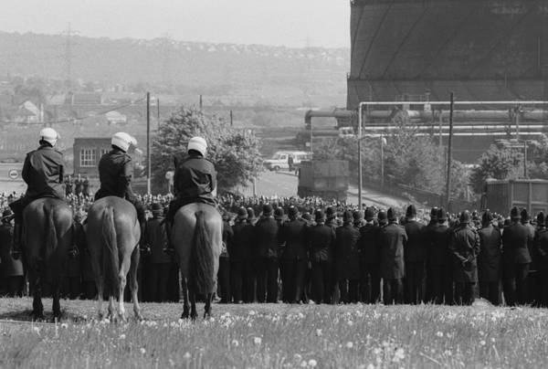 Police Force Photograph - Police Out In Force by Steve Eason