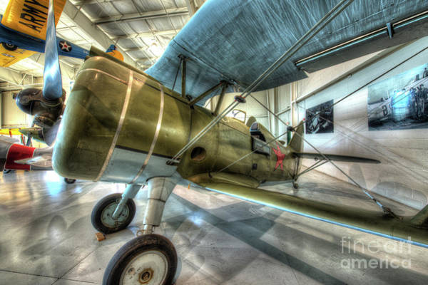 Ju 52 Wall Art - Photograph - Polikarpov I-15bis by Greg Hager