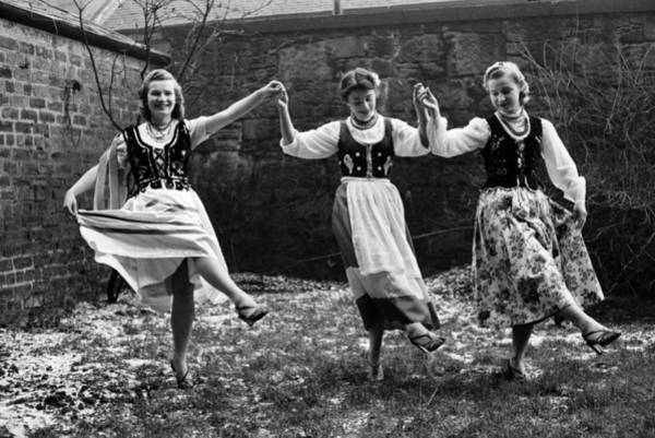 Traditional Clothing Photograph - Polish Dance by Bert Hardy