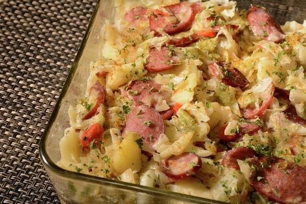 Photograph - Polish Kielbasa Cuisine 3 by Angie Tirado