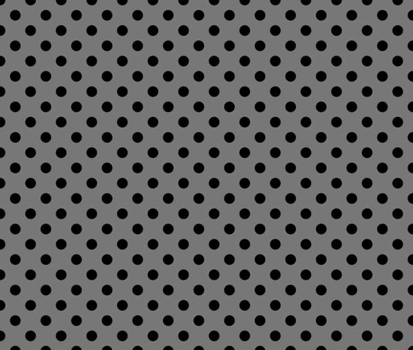 Spots Digital Art - Polka Dot Black On Grey by Filip Hellman