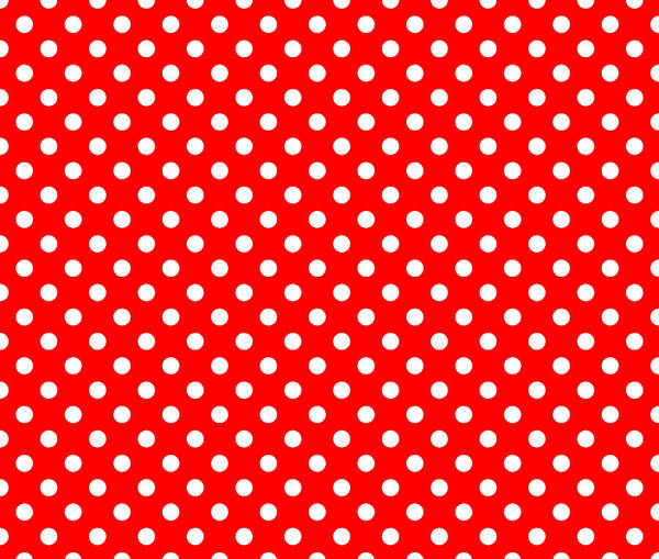 Wall Art - Digital Art - Polka Dot White On Red by Filip Hellman