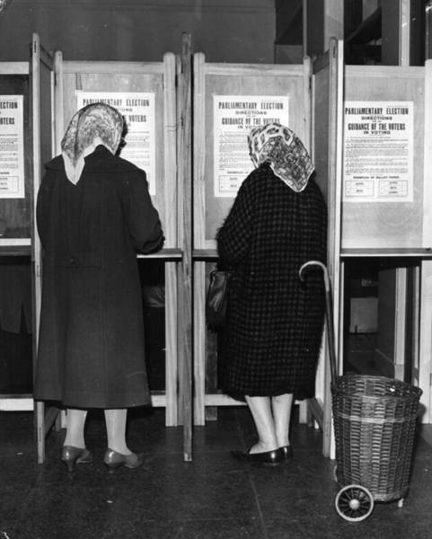 Election Photograph - Polling Day by Keystone
