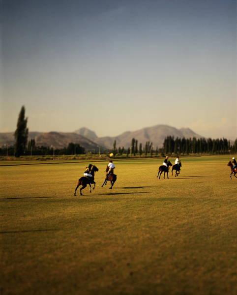 Wall Art - Photograph - Polo Match, Near Santiago, Chile by Simon Watson