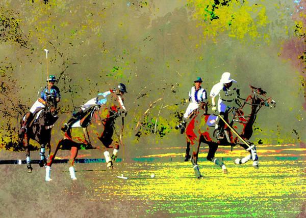 Wall Art - Digital Art - Polo Pop Art by Gaby Ethington