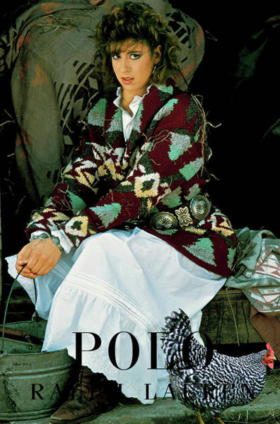 Vogue Mixed Media - Polo, Ralph Lauren, Country Collection by Thomas Pollart