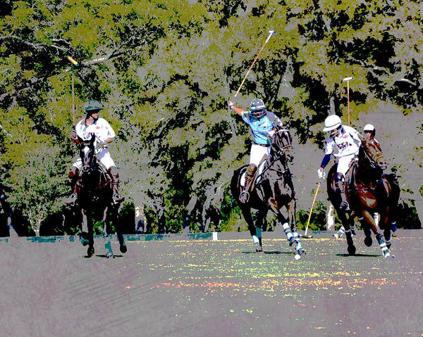 Wall Art - Photograph - Polo Right Of Way by Gaby Ethington