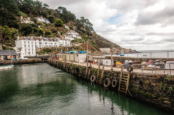 Wall Art - Photograph - Polperro's Fishing Harbour by Phyllis Taylor