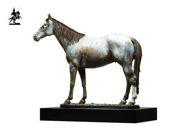 Wall Art - Sculpture - Polychromed Bronze Banner by Fernando Andrea