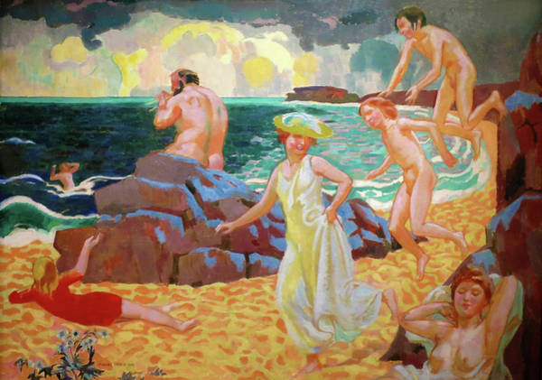 Wall Art - Painting - Polyphemus - Digital Remastered Edition by Maurice Denis